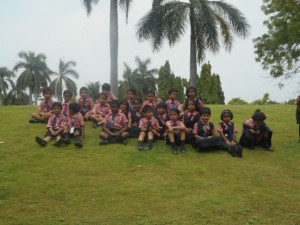 Class I Students Field Trip to Sanjeevaiah Park