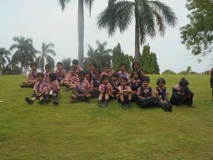 Class I Students Field Trip to Sanjeevaiah Park