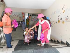 Welcoming the Children after summer vacation 2018 - 19
