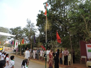 Republic Day Celebrations at LSS 2015 - 16