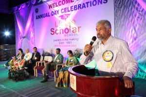 Annual Day Celebrations for classes III to X - 2015
